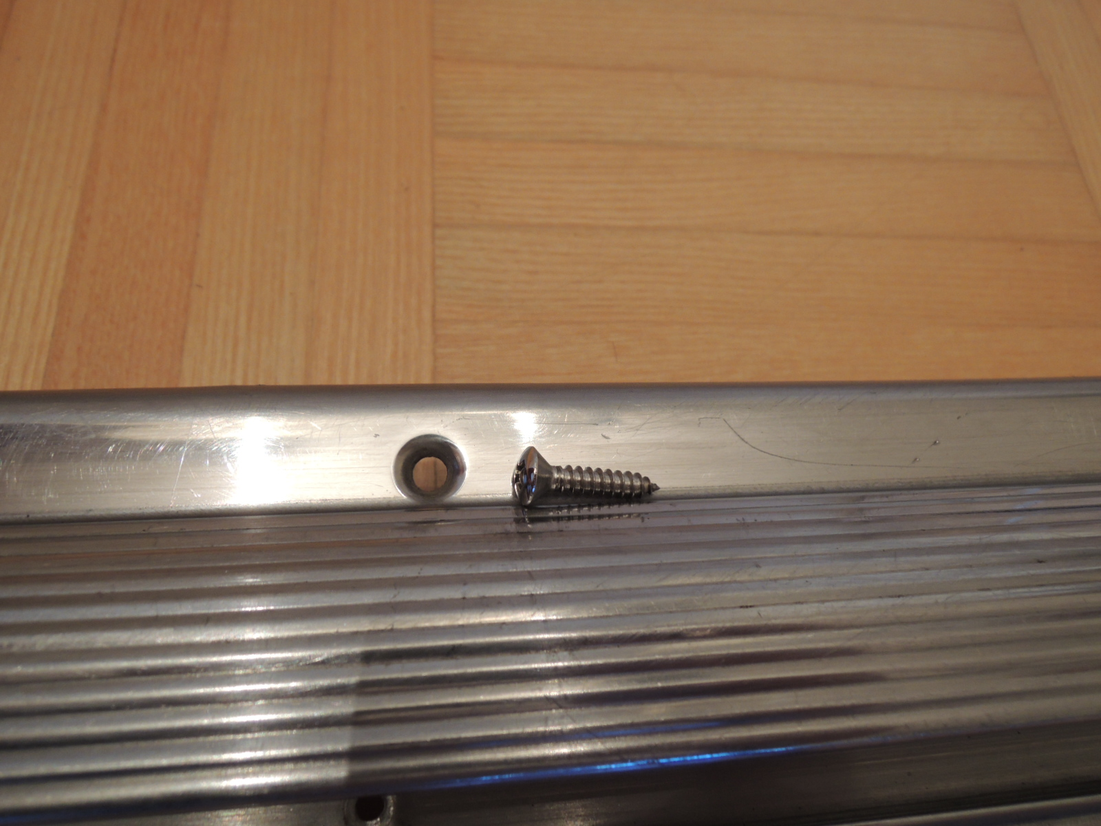 105 Bertone sill cover screws (stainless)