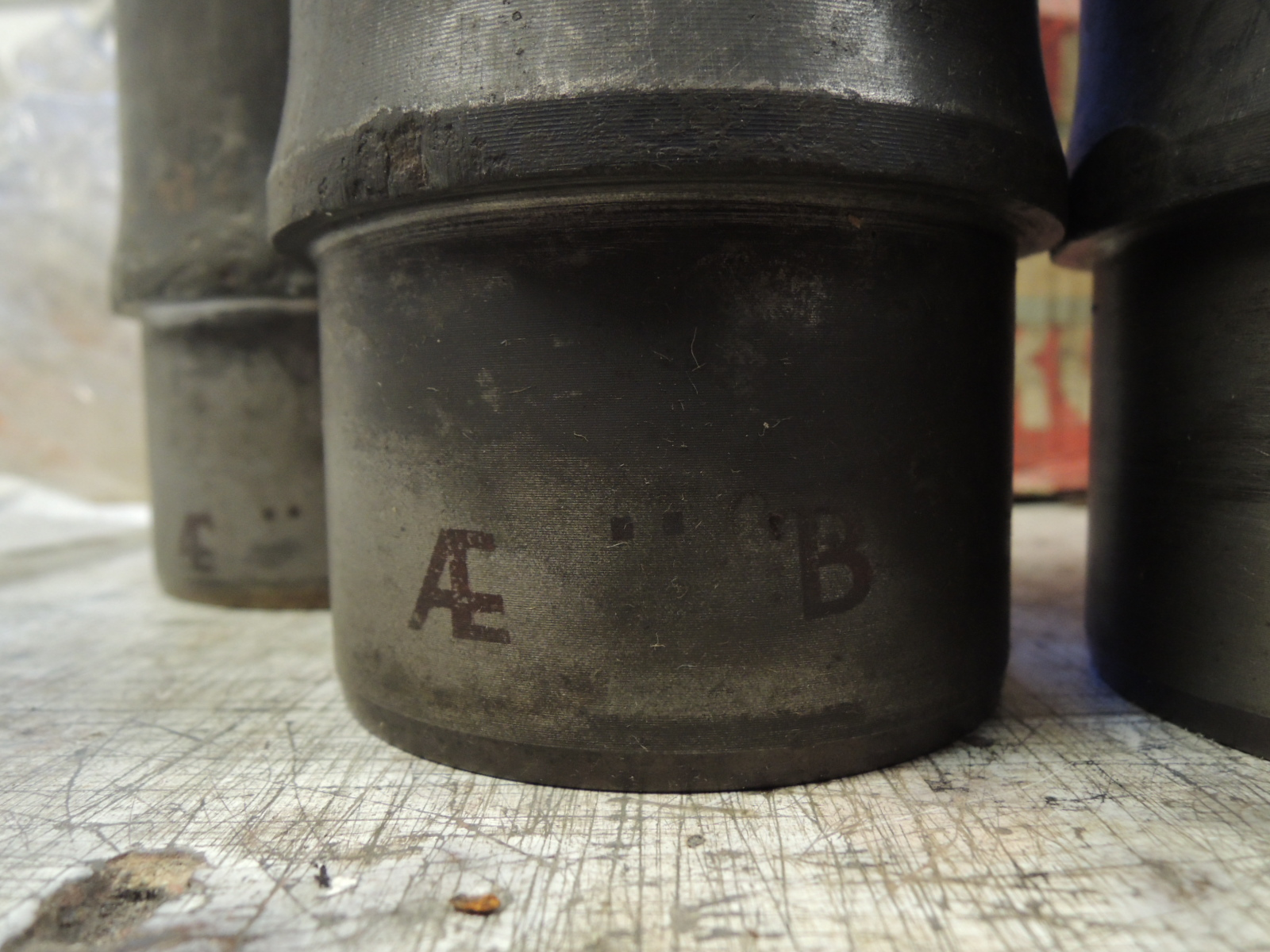 105 Giulia 1300 engine cylinder liners-used